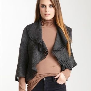 Mischa Barton Signature Jacket in Charcoal
